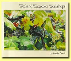 Weekend Watercolor Workshops by Molly Davis